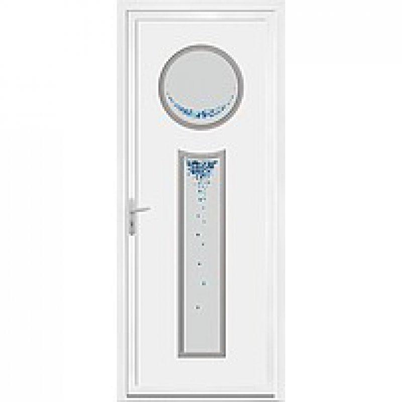 Acheter vente porte pvc contemporain blanc achat et pose for Achat porte pvc