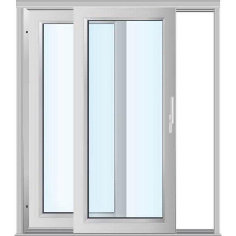 Acheter vente coulissant 1 vantail 1 rail aluminium for Fenetre vitree