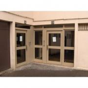 Portes d'entrées aluminium