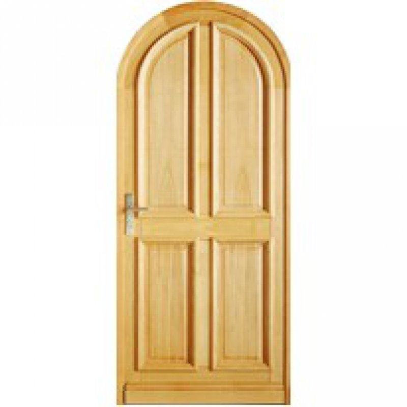 Acheter vente porte bois plein cintr e installateur for Porte a acheter