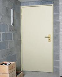 Porte blinde maison porte foxeo s porte blinde foxeo s for Porte de service bois isolante
